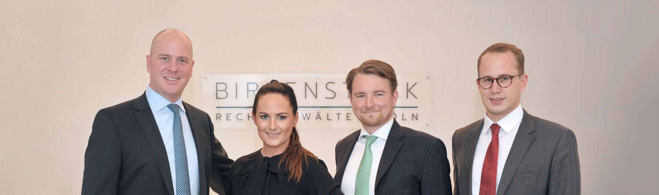 Header - Das Team der Anwälte - Birkenstock Rechtsanwälte